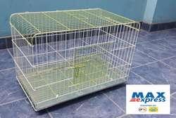 Jaula Diseño Practico con BandejaViruta para Conejo Enano Cuy DELIVERY