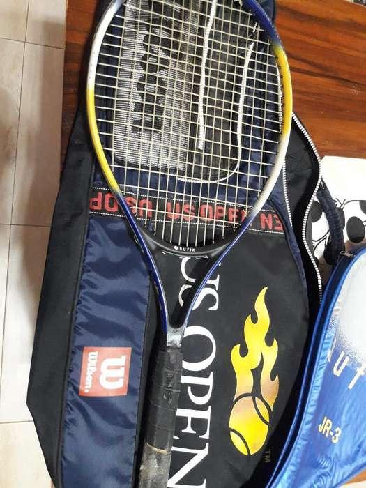 Vendo Raqueta de Tenis Y Bolso. Financio