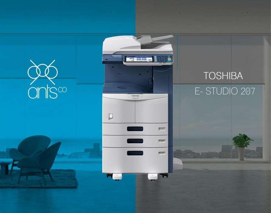 Toshiba 207 - Multifuncional Laser Blanco y Negro - Impresión, Escáner, Copiado - Usada - Ants Co
