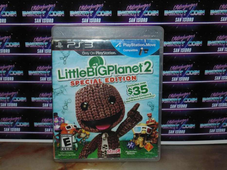 Little Big Planet 2 Juego PS3 Play Station 3