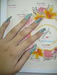 Curso de Uñas, Acrílicas, Gel, Diseños, Mano Alzada
