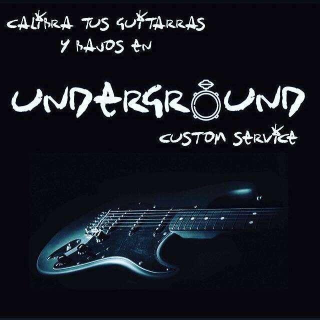 Calibración y mantenimiento general a guitarras y bajos