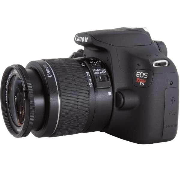 Cámara Canon t5 nueva lente 18-55 mm