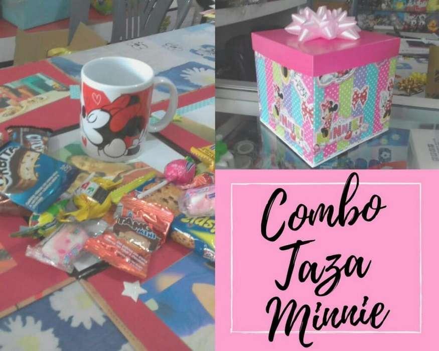 Combo Taza Minnie