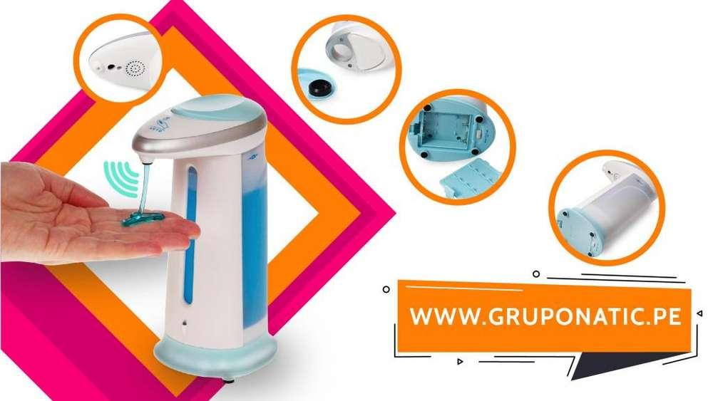 Dispensador Magico Jabon Liquido Gruponatic San Miguel Surquillo Independencia La Molina Whatsapp 941439370