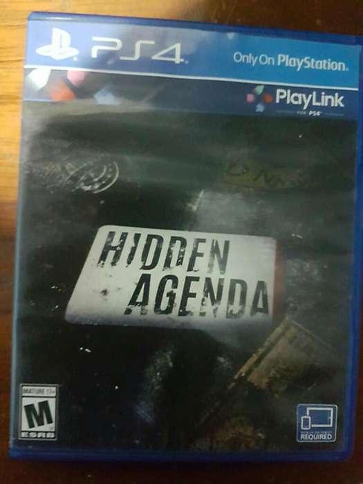 Hiden <strong>agenda</strong> Como Nuevo