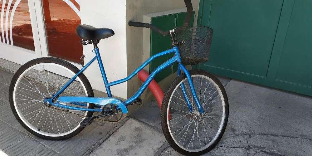 Bicicleta Playera Mujer Rodado 26. Nueva
