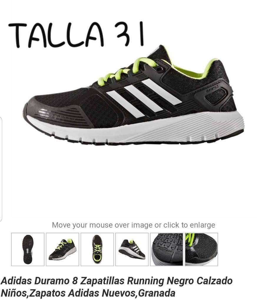 zapatillas niño 31 adidas