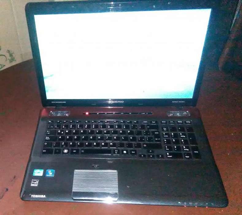 Vendo Laptop TOSHIBA Qosmio X775 Intel (R) core (TM) i7-2670