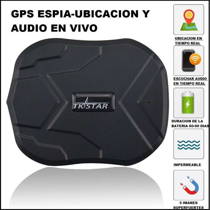 GPS ESPIA TKSTAR TK905 UBICACION Y <strong>audio</strong> EN VIVO