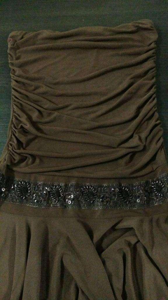 72e27605e Vestido de fiesta marron TALLE 1 - Lanús