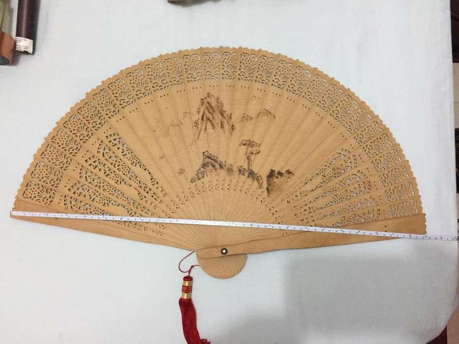 Abanico madera delgado