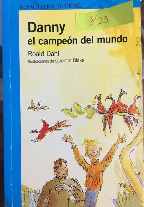Libro Danny El Campeón Del Mundo