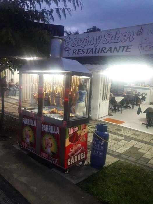 Se vende montaje de restaurante