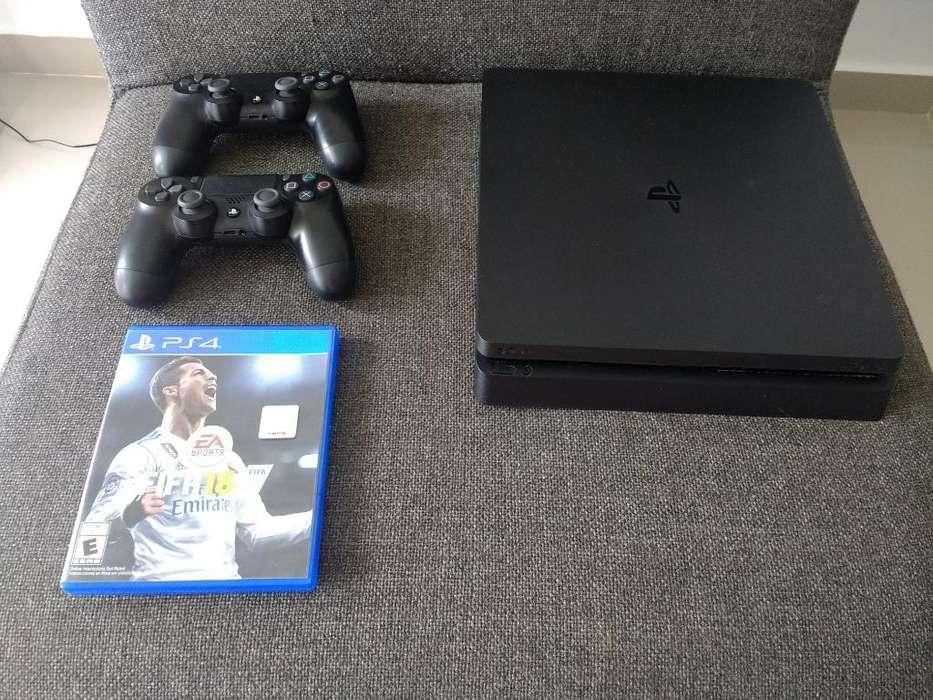 Playstation Slim 2 Controles 2 Juegos