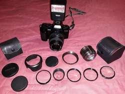 Cámara Fotográfica Canon Efm