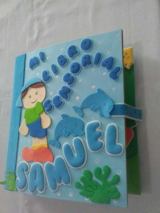 Libro Sensorial para Niños