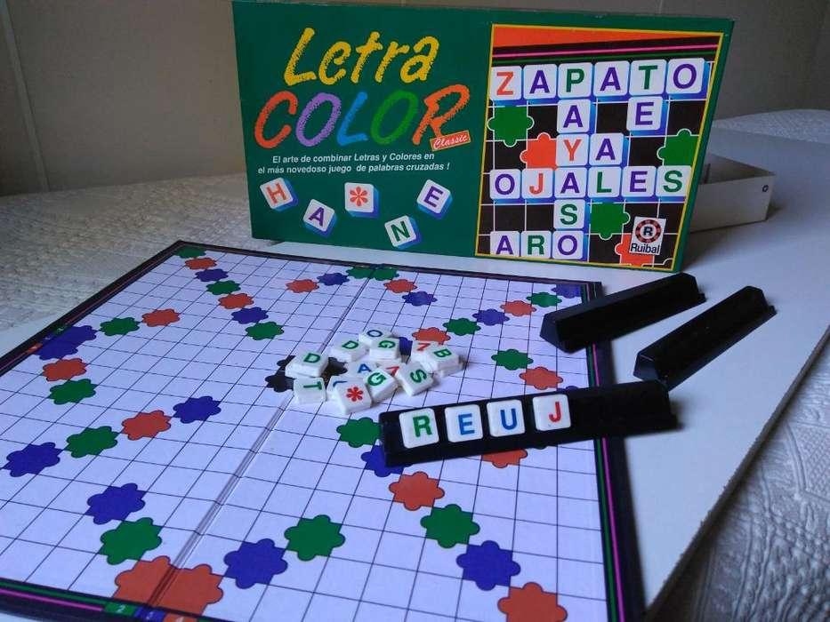Juego de Mesa Usado: Letra Color