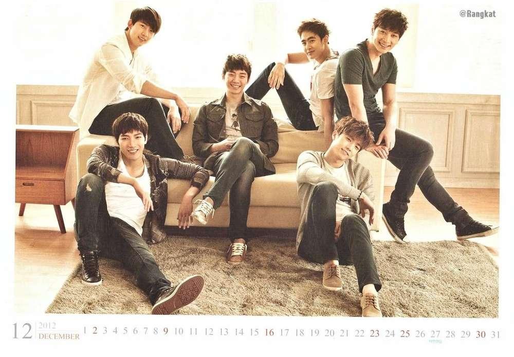 Calendario 2PM 2012 kpop