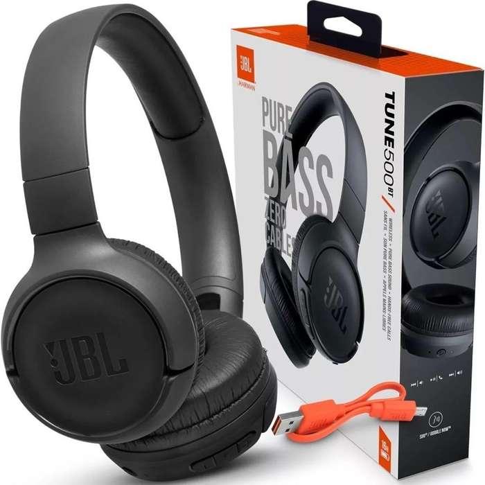 Auriculares Inalámbricos Jbl Tune500 Bt Bluetooth