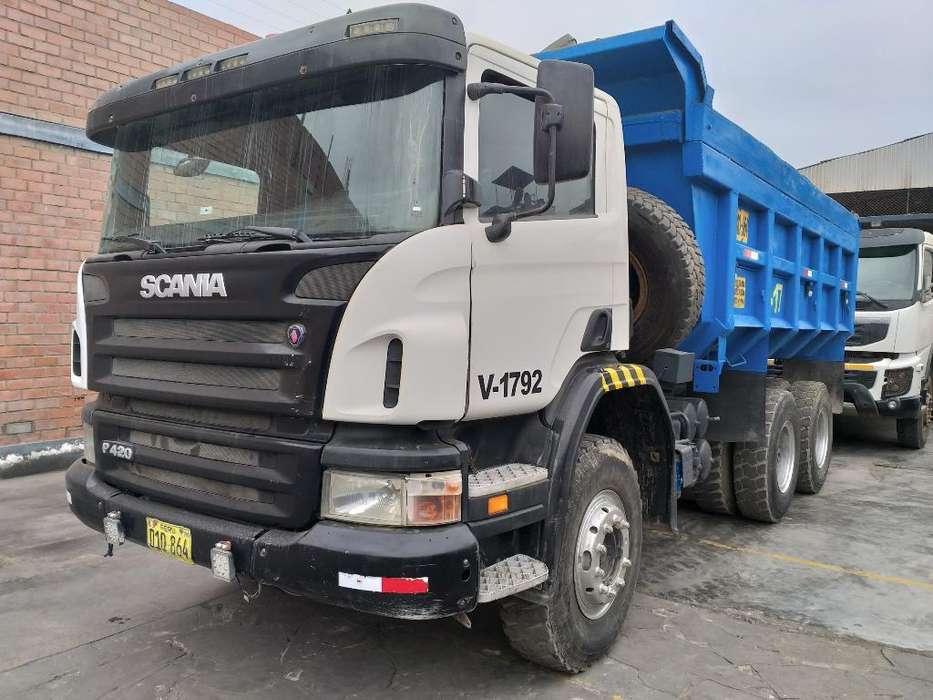 Scania P420 6x4 Año 2011 Crédito Directo