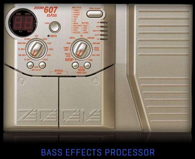<strong>pedal</strong> Efectos para Bajo ZOOM adaptador de corriente