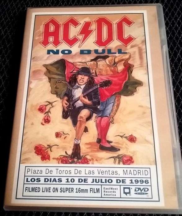 AC/DC NO BULL 1996 DVD en Vivo Dolby Stéreo y 5.1 afiche a color 2:24 horas Subtítulos en varios idiomas Permuto