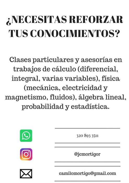 Tutorías académicas universitarias en Bogotá y municipios de la Sabana,