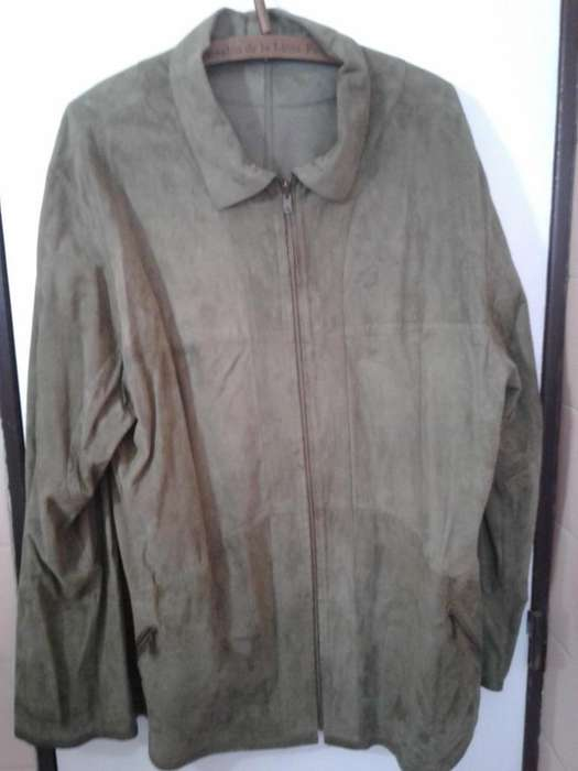 001. CAMPERA REVERSIBLE MEDIA ESTACION CUERO T. XL