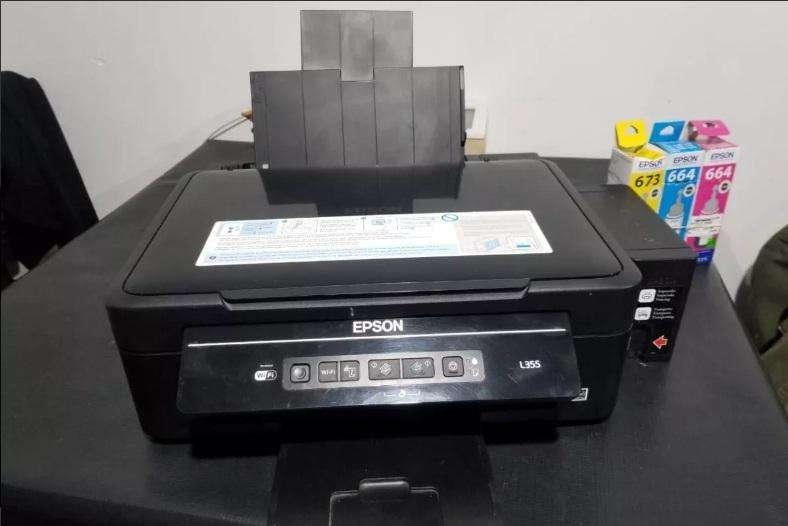 Impresora Multifuncion Epson L355 Ecotank. Excelente.