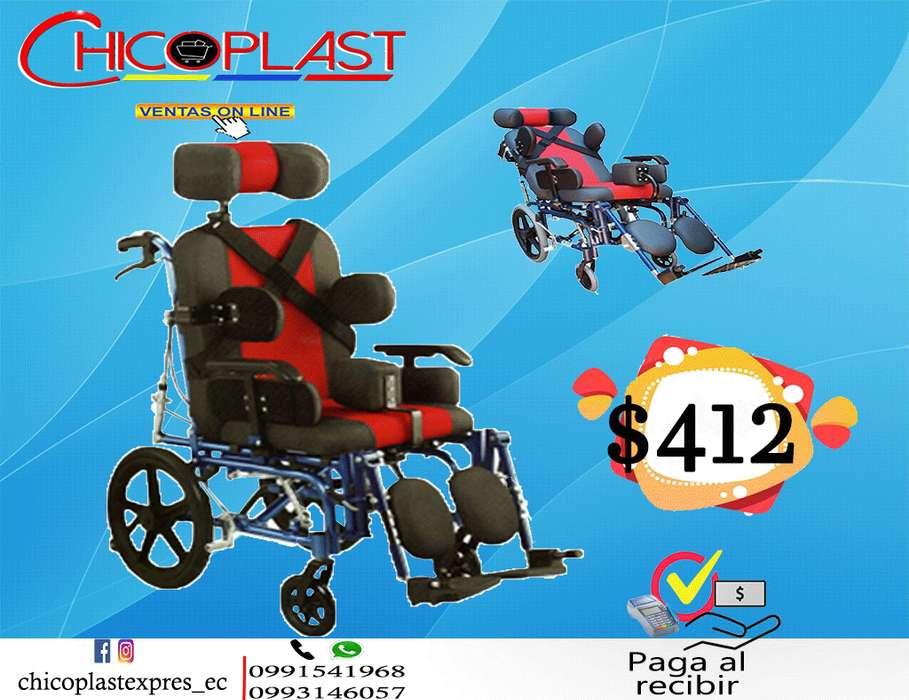 silla de ruedas paralisis cerebral infantil ortopedica