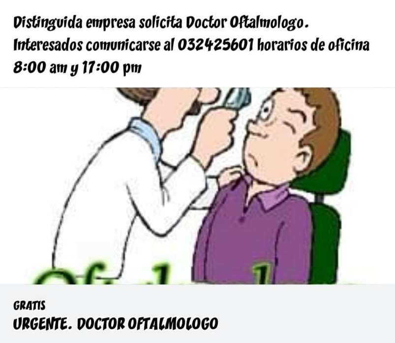 Doctor Oftalmológo