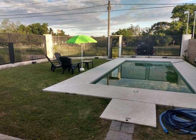 En venta terreno , con piscina y parrilla!