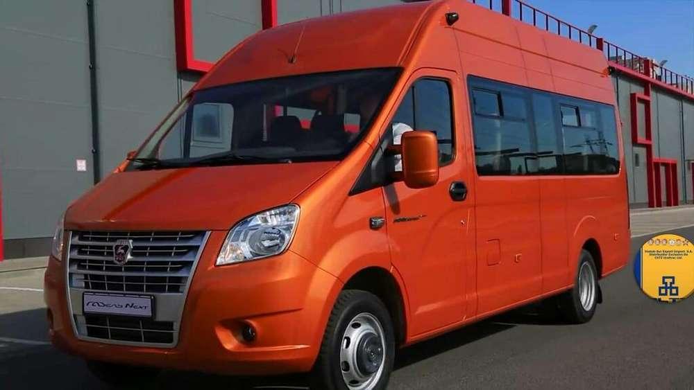 Gaz. Perú. Marca Europea. Combis. Buses. Minibuses.