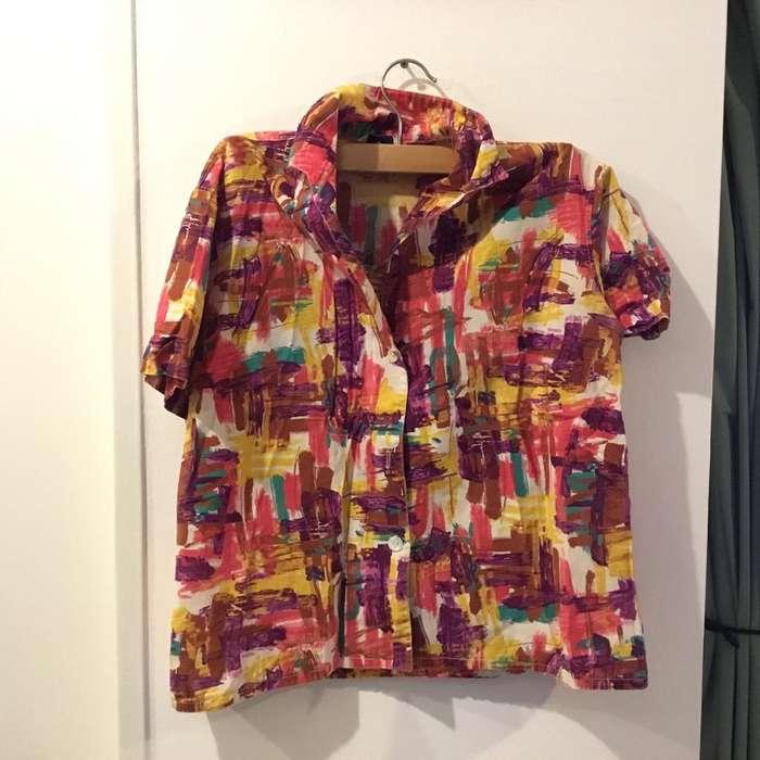 <strong>camisa</strong> vintage de Pintorx
