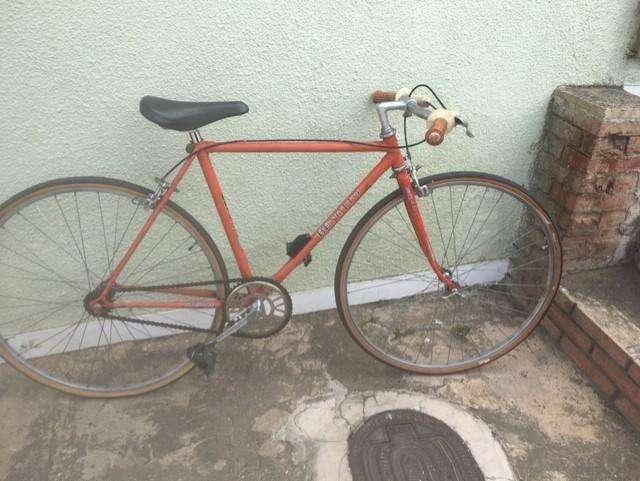 Bicicleta semi-carreras antigua