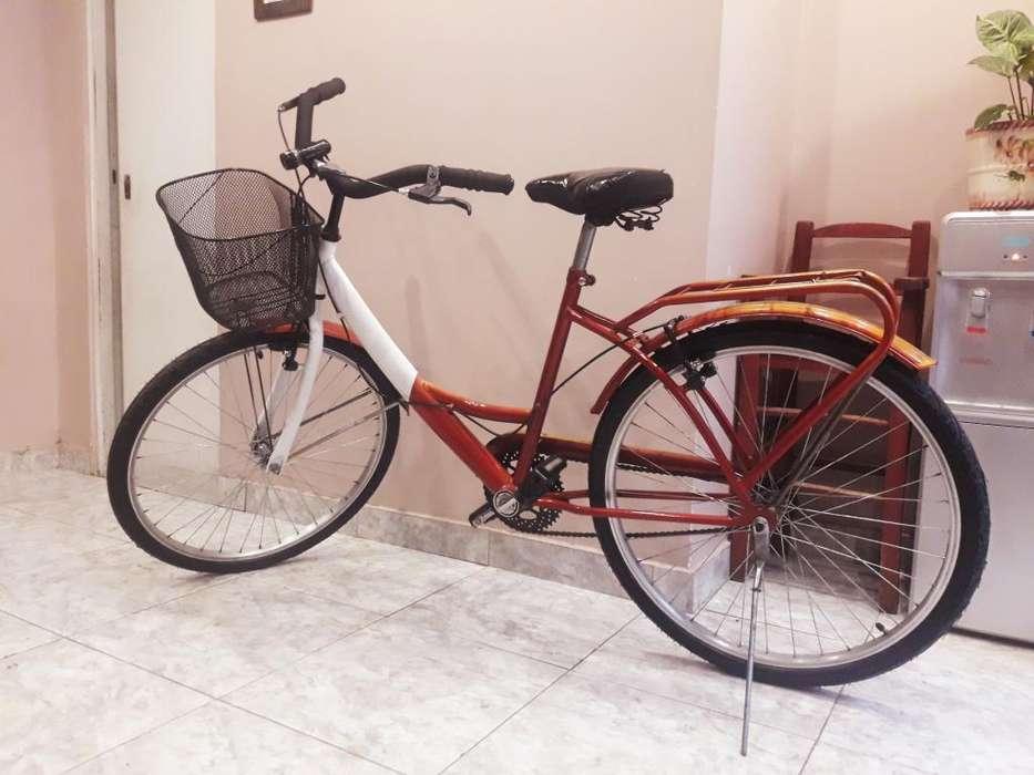 Bicicleta Playera Paseo. Rodado 26