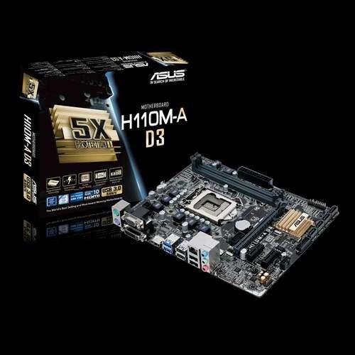 pc-intel-i5 6400-asus H110-Kingston ddr3-Western Digital 1tb-lg 19.5