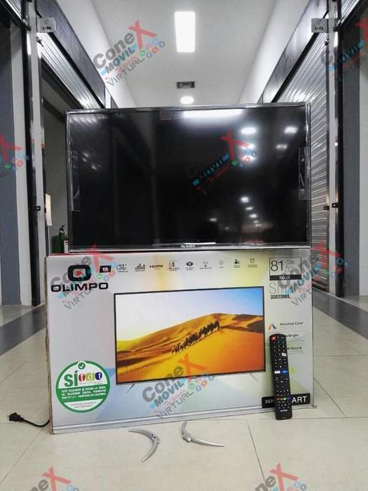 <strong>televisor</strong> Hd Olimpo 80cm 32'' Smartv