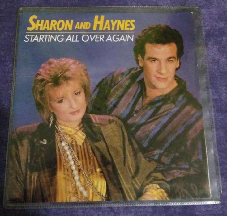 Vinilo de Sharon And Haynes 1986