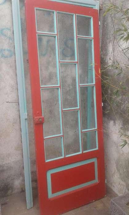 Puertas Madera Con Vidrios Hogar Muebles Jardin En Buenos Aires