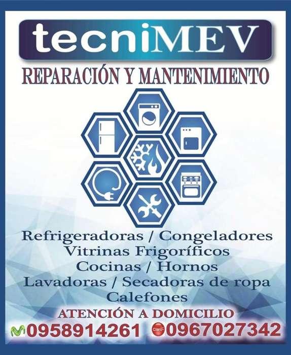 REPARACIÓN Y MANTENIMIENTO DE ELECTRODOMÉSTICOS. SERVICIO A DOMICILIO. CONTÁCTENOS AL 0958914261