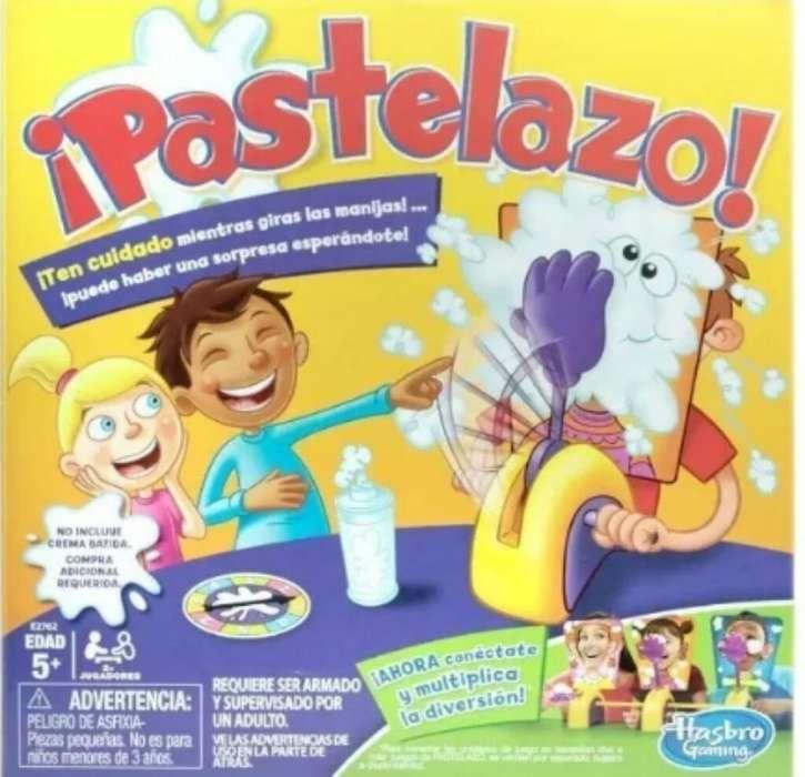 Vendo Juego Pastelazo Hasbro Nuevo