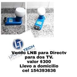 Vendo Lnb para Directv para 2 Tv
