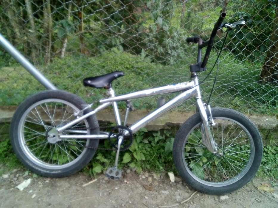 Gravity bicicleta cola mocha cromada