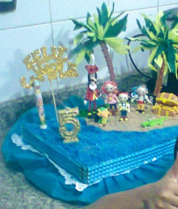 Combo de Personajes para Torta Infantil
