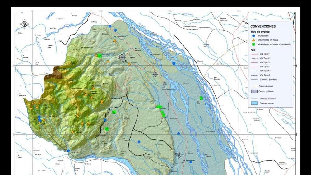 Mapas, Procesamiento Espacial