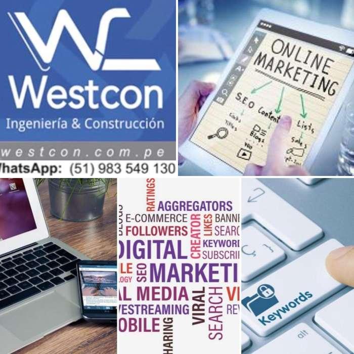 Servicio de Marketing Online Adistancia.