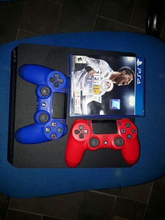 Ps4 Slim 1tb Fifa 18 2 Joystick