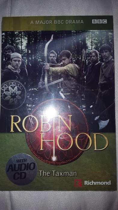 Libro Robin Hoodthe Taxman con Cd Audio